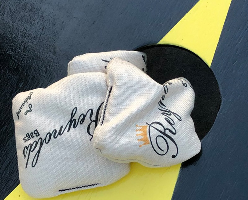 How to throw the flop shot or rollover bag