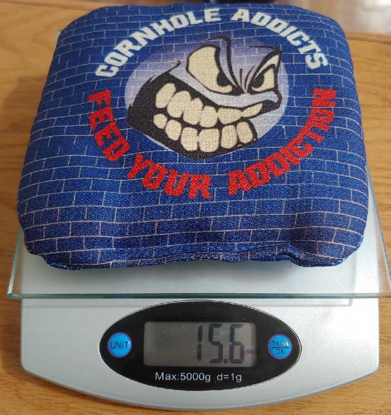 Showtime series cornhole bag weight