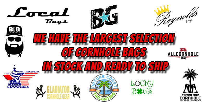 Pro Dual Sided Cornhole Bags in stock and ready to ship