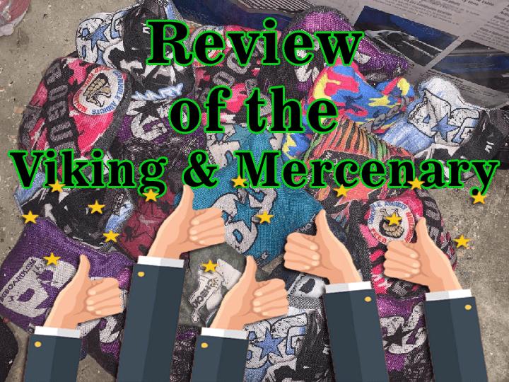 Review of the BG Viking and Mercenary cornhole bag