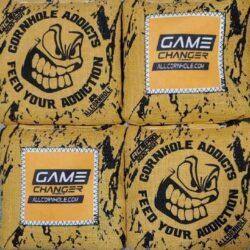 GameChanger cornhole bags yellow