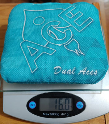 Dual Aces weight
