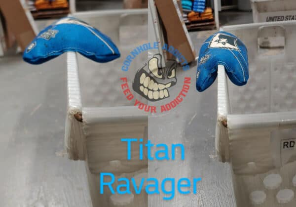 Relaxed Titan Ravager before and after