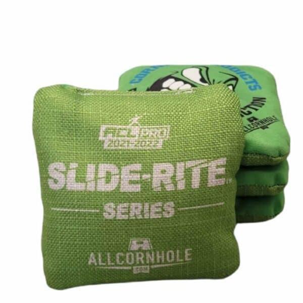 AllCornhole Slide-Rite green
