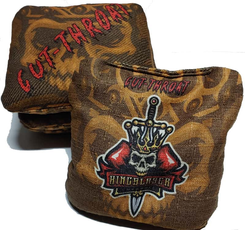 KingSlayer Cut Throat cornhole bags