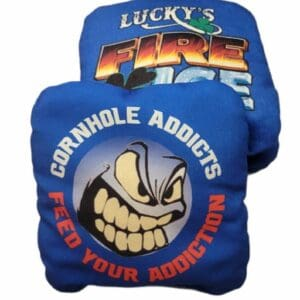 Lucky's Fire & Ice blue