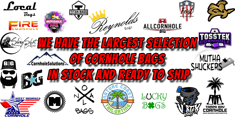 The largest selection of dual sided cornhole bags