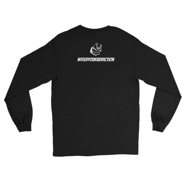 mens long sleeve shirt black back 602d63fce2df2
