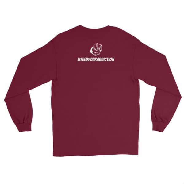 mens long sleeve shirt maroon back 602d63fce3441