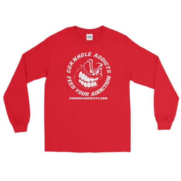 mens long sleeve shirt red front 602d63fce36b6