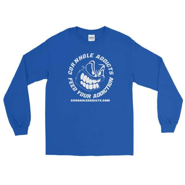 mens long sleeve shirt royal front 602d63fce2704