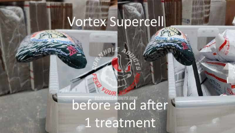 Vortex Supercell before and after sac relax