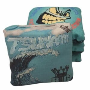 Big Daddy Cornhole Tsunami turquoise