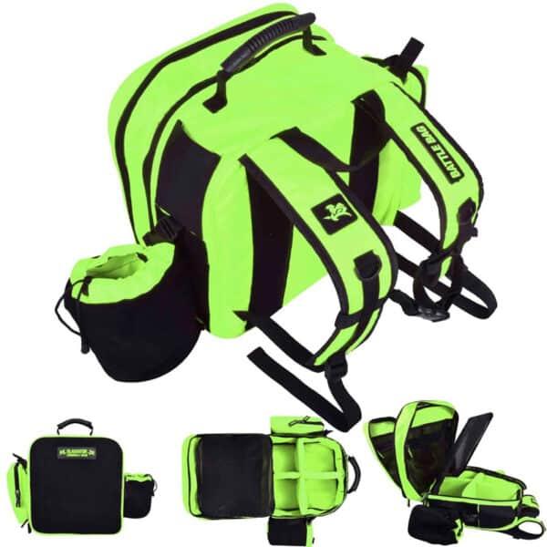 green battle bag
