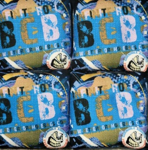 Better Cornhole Bags Infinite Roll blue