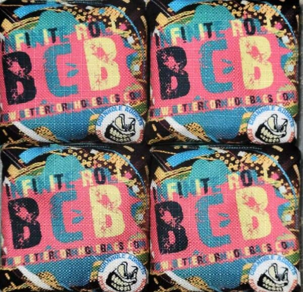 Better Cornhole Bags Infinite Roll pink
