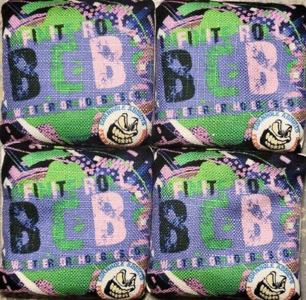 Better Cornhole Bags Infinite Roll Purple
