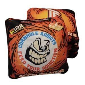 Fire Cornhole Accelerator Orange