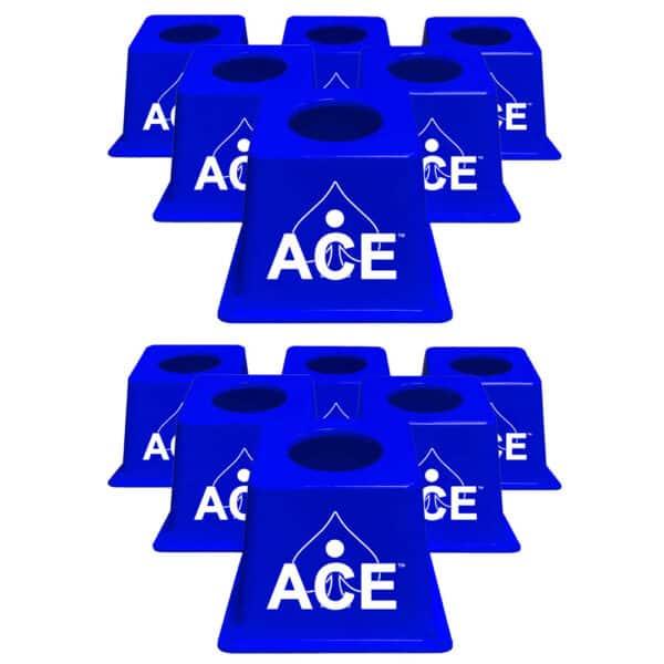 CornholeAce Airmail Pong blue