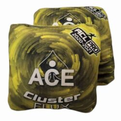 CornholeAce Cluster Flux yellow