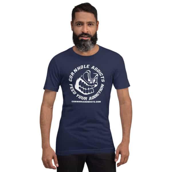 unisex premium t shirt navy front 60ec227853488
