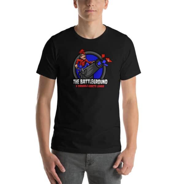 unisex staple t shirt black front 60fed240a88ab