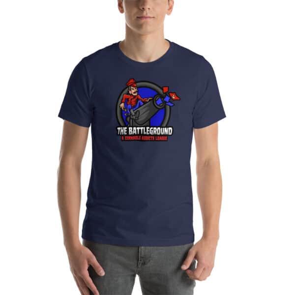 unisex staple t shirt navy front 60fed240a8b14