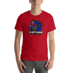 unisex staple t shirt red front 60fed240a7ef0