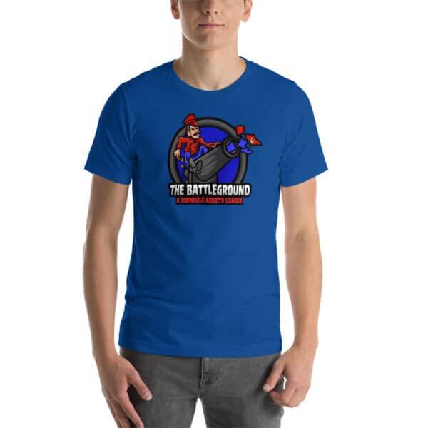 unisex staple t shirt true royal front 60fed240a90e7