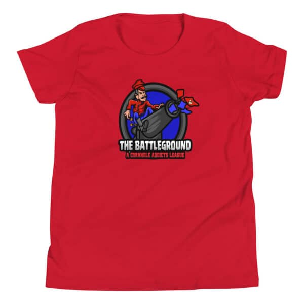 youth staple tee red front 60fed00fdabd7
