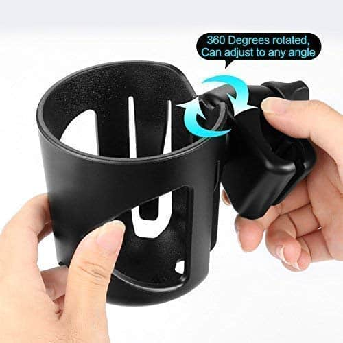 Zuca cup holder 360 clamp