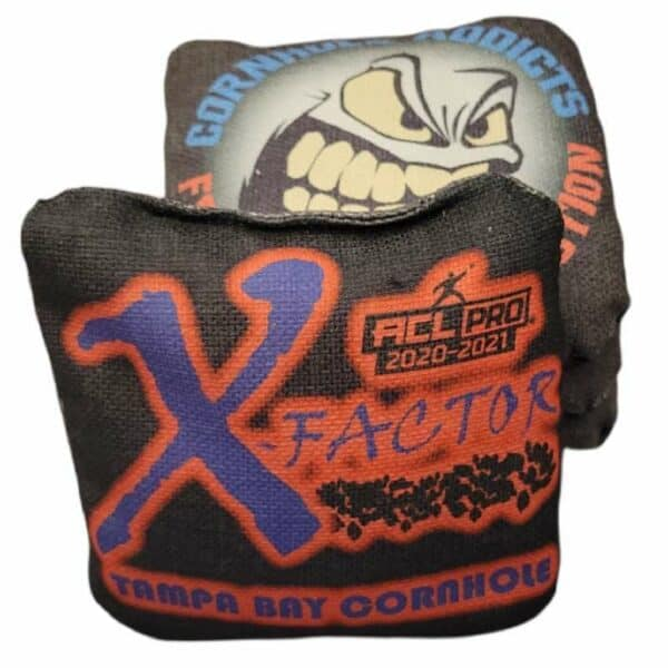 Tampa Bay Cornhole X-Factor black