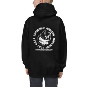 kids hoodie jet black back 614b4a4b5a9c0