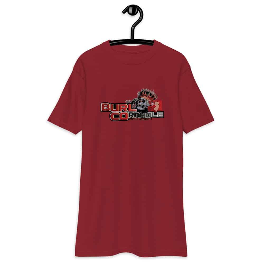 mens premium heavyweight tee brick red front 6131579adbbc4