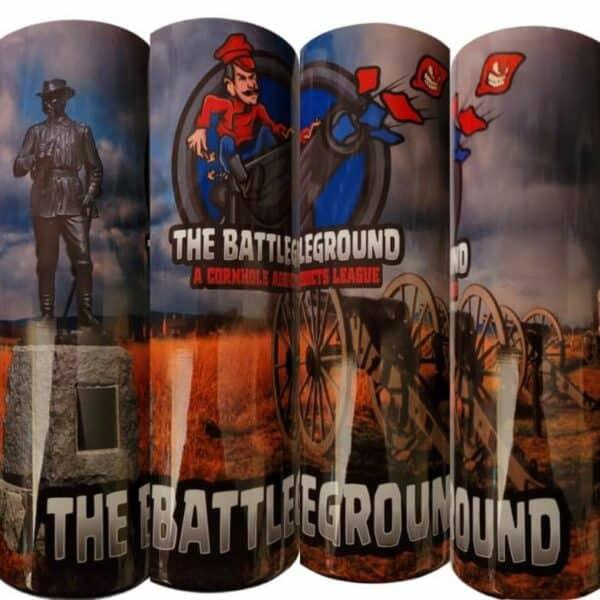 Battleground tumbler