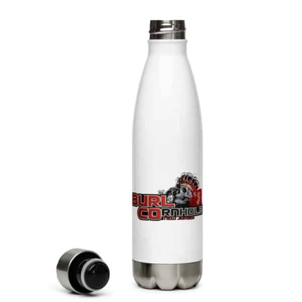stainless steel water bottle white 17oz left 61324353b344a