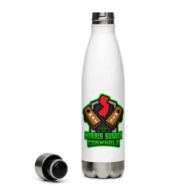 stainless steel water bottle white 17oz right 6135597f6c1ef