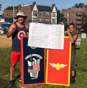 Brayden and his dad's biggest win