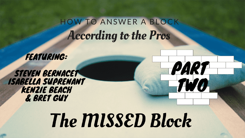 The missed block, pro level game theory